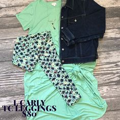 Mint is in. This Mint and Navy combo is the perfect pairing. Add a denim jacket to complete the look and you will look fantastic. Check out our shopping page for this and other stylish outfits. .  .  .  #lularoe #ootd #lularoecarly #lularoeleggings #summerwardrobe #modestfashion #modestclothing #modestandmodern #fashion #style #fashiongram #stylegram #momboss #lularoeconsultant #mompreneur #stylemepretty #womenwear #womensfashion