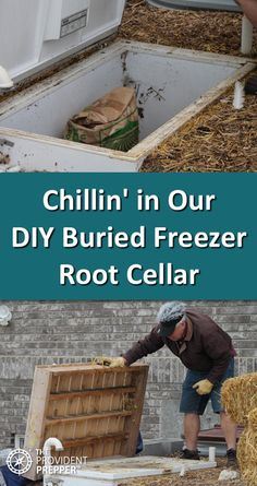 Chillin' in Our DIY Buried Freezer Root Cellar – The Provident Prepper Survival Life, Survival Food, Homestead Survival, Wilderness Survival, Survival Prepping, Survival Skills, Survival Quotes, Prepper Food, Survival Hacks