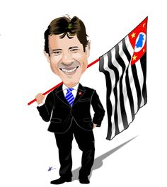 FM Caricaturas - Caricaturas Ao Vivo Para Festas.: CARICATURAS DE FAMOSOS - Fernando Haddad.