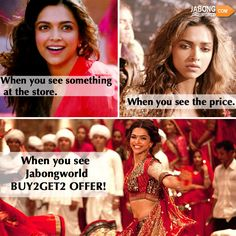 If you feel the same then check out the full range of BUY2GET2 products here- http://www.jabongworld.com/ #OFFER #JABONGWORLD