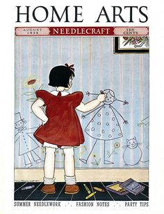 1938 - Home Arts Needlecraft Magazine by clotho98, via Flickr ~ (I remember this one)