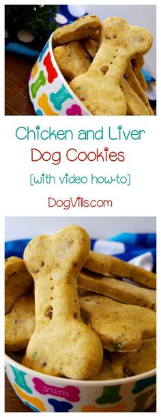 Homemade dog treats make great Christmas gifts for dogs! Check out our Chicken & Liver cookies! Perfect for a Thanksgiving treat for Fido too! // KaufmannsPuppyTraining.com // Kaufmann's Puppy Training // dog training // dog love // puppy love //