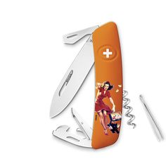 Sackmesser Swiza Limited Edition Autumn – Pin-up Pin Up, Swiss Army Knife, Gadgets, Autumn, Pocket Knives, Stainless Steel, Presents, Swiss Army Pocket Knife, Fall