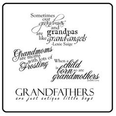 Discover and share Happy Grandparents Day Quotes. Explore our collection of motivational and famous quotes by authors you know and love. Sweet Quotes, Cute Quotes, Free Printable Love Quotes, Grandpa Quotes, Quotes About Grandchildren, Happy Grandparents Day, Scrapbook Quotes, Family Quotes, Quote Of The Day
