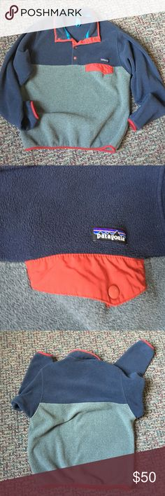 Patagonia (Synchilla Snap T Pullover) In very good condition! Patagonia Jackets & Coats
