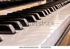 #closeup #blacks #white #keys #piano #music