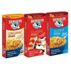 Free Horizon Organic Mac & Cheese - ALL 25,000 SAMPLES CLAIMED