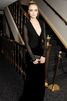 British Supermodel Cara Delevingne