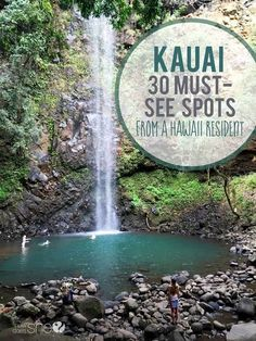 KAUAI Must See Spots From a Hawai'i Resident Kauai Travel Musts: A Hawai'i resident's guide to Kauai including the 30 of the best travel sites & beaches on the island of Kauai. Kauai Vacation, Hawaii Honeymoon, Beach Trip, Vacation Ideas, Beach Vacations, Vacation Spots, Honeymoon Ideas, Vacation List, Italy Vacation