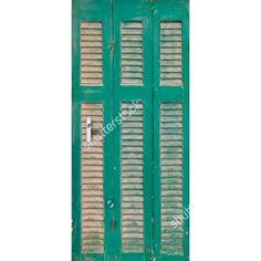 Deursticker Louvre II | Een deursticker is precies wat zo'n saaie deur nodig heeft! YouPri biedt deurstickers zowel mat als glanzend aan en ze zijn allemaal weerbestendig! Verkrijgbaar in verschillende afmetingen. #deurstickers #deursticker #sticker #stickers #interieur #interieurprint #interieurdesign #foto #afbeelding #design #diy #weerbestendig #louvre #hout #groen
