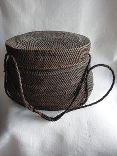 Old Rice Basket, China.