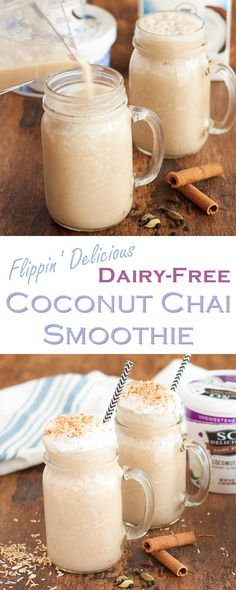 Coconut Chai Smoothi