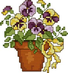 "Free Cross Stitch Pattern ""Spring 99"""