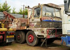 It will take more than a spanner to get this old girl going Road Train, Heavy Duty Trucks, Bus Coach, Abandoned Cars, Tow Truck, Classic Trucks, Coaches, Buses, Transportation