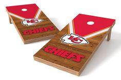 Kansas City Chiefs Cornhole Board Set - Uniform