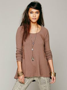 Free People FP X Victorian Scroll Top, $98.00