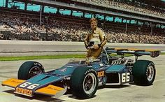 Mark Donohue - 1972 Indy 500 winner, and the 1st Indy win for team owner Roger Penske.
