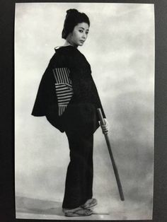 "jailhouse41: "" Some Junko Fuji (藤純子) promotional photos, presumably for one of the Red Peony Gambler (緋牡丹博徒) films. """