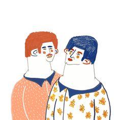 character illustrations - Ashley Percival Illustrator
