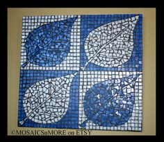 Mosaic made by Joan Van Cleave, MOAICSnMORE on ETSY