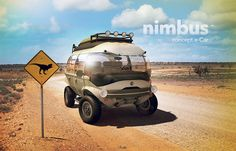 The all-terrain Nimbus e-Car concept is eco-friendly and packed with technology like on-board Wi-Fi.