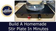This is a quick 5 minute tutorial on how to build an awesome homemade stir plate using a cigar box, PC cooling fan, hard drive magnet, and an AC adapter. I a...