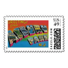 Greetings From Asbury Park New Jersey Stamps We Are Given They Also Recommend Where Is
