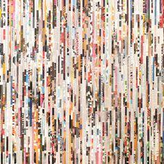 """Saatchi Art Artist Tehos Frederic CAMILLERI; Collage, """"Line after Line - Tehos"""" #art"""