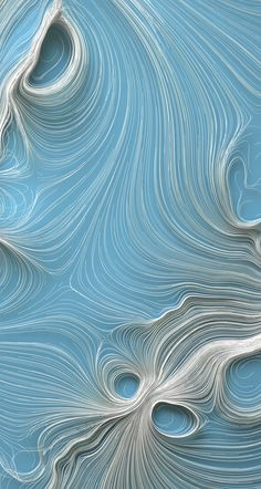 Art numérique: limm on Behance: trailing points from sample positions inside a volumetric vector field