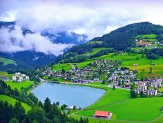 """الطبيعه الخلابة بقرية""""انجلبيرج""""في جبال الألب السويسرية"""
