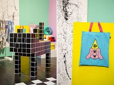 A FUN Project at Pick Me Up | Lazy Oaf Journal