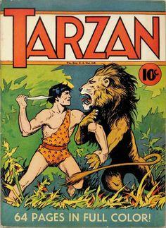 Tarzan by Hal Foster