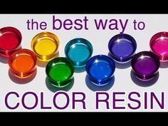 Ways to Color Resin by Little Windows                                                                                                                                                                                 More