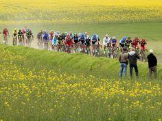 Paris-Roubaix The terrain is always spectacular en-route to Roubaix