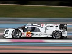 2014 Porsche 919 Hybrid Le Mans Prototype at Paul Ricard - /TRACKSIDE: Porsche's new 919 Hybrid during testing for the World Endurance Championship at Circuit Paul Ricard in France. April 2014.