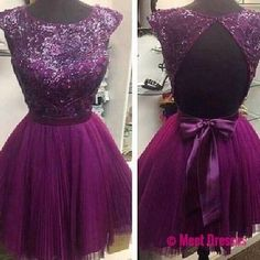 Grape Homecoming Dress,Princess Homecoming Dresses,Tulle Homecoming Dress,Princesses Party Dress,Sparkly Prom Gown,Cute Sweet 16 Dress,Cocktail Gowns,Short Evening Gowns PD20183683