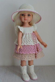 Crochet Dolls Clothes Вяжем для кукол Паолочек – 938 фотографий -