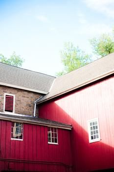 the red barn by Deana Clement Michie for Minted.