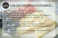 Lo que los #celiacos necesitan...