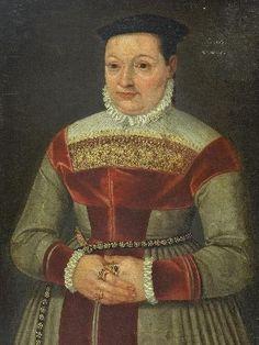 German School, 16th century - PORTRAIT OF A LADY,... on MutualArt.com