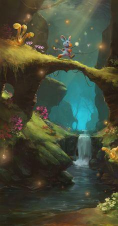 ArtStation - forest, S SB