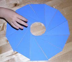 Homemade Montessori Triangles