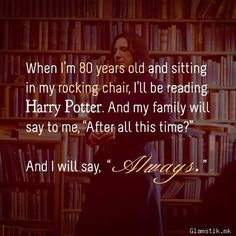 I LOVE this! This will be me! I hope to pass the love of these books down the line of my family!
