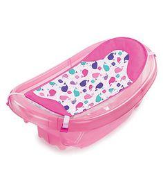 Summer Infant Sparkle 'n' Splash Bath Tub - Pink