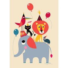 Affiche Ingela P. Arrhenius Animal Party