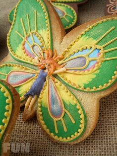Butterfly Fairy Cookies