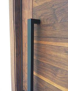 Mercury Handles Matt Black Modern Stainless Steel Entrance Entry Commercial  Office Store Front Wood Timber Glass Garage Barn Sliding Door Pull Push  Handles ...