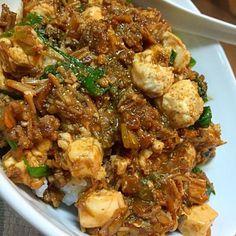 きつねさんの麻婆豆腐できたわよー☆  #料理 #料理男子  #FoxsKitchen - 13件のもぐもぐ - 辛口麻婆豆腐 by FoxSgb