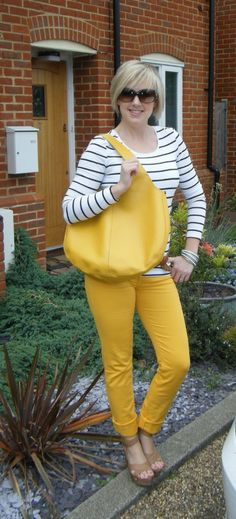 Yellow bag in Surrey with Alicia Yellow Jeans, Yellow Leather, Surrey, Sunshine, Glamour, Orange, Bags, Fashion, Purses