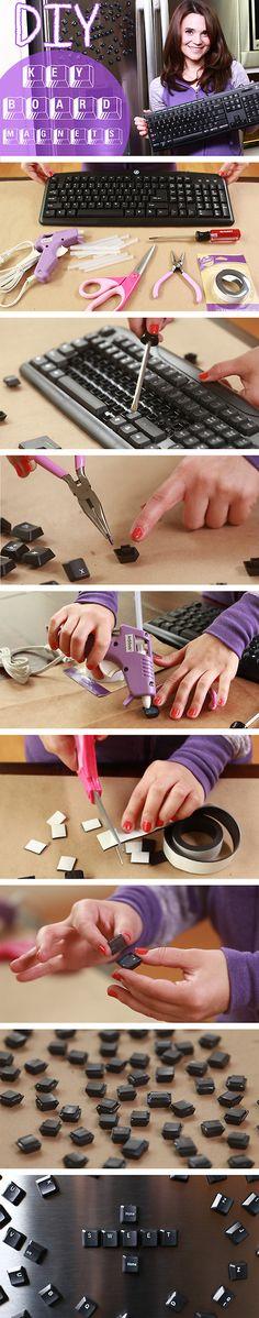 Rosanna Pansino: DIY Keyboard magnets